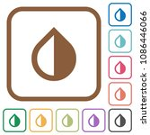 invert colors simple icons in... | Shutterstock .eps vector #1086446066