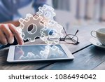 business process management... | Shutterstock . vector #1086494042