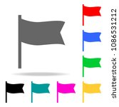 flag icons. elements of human...