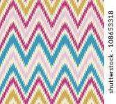 seamless modern and trendy zig... | Shutterstock .eps vector #108653318