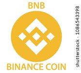 binance coin cryptocurrency...   Shutterstock .eps vector #1086543398