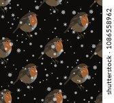 seamless geometrical polka dot... | Shutterstock .eps vector #1086558962