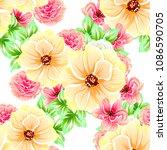 abstract elegance seamless... | Shutterstock . vector #1086590705