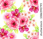 abstract elegance seamless... | Shutterstock . vector #1086590795