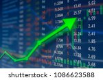 investing and stock market...   Shutterstock . vector #1086623588