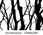 Vector Tree With White...