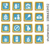 pest control tools icons set... | Shutterstock .eps vector #1086633452