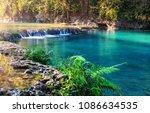 beautiful natural pools in...   Shutterstock . vector #1086634535
