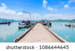 scenery of the bay at koh yao... | Shutterstock . vector #1086644645