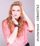 woman | Shutterstock . vector #108665762