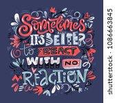 insiprational typography  ... | Shutterstock .eps vector #1086663845