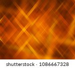 geometric orange intersecting... | Shutterstock . vector #1086667328