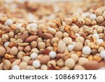 background of a big hill of mix ... | Shutterstock . vector #1086693176