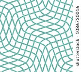 seamless nautical rope pattern. ... | Shutterstock . vector #1086730016