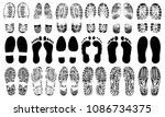 Footprints Human Shoes...