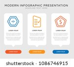 business infographic template... | Shutterstock .eps vector #1086746915