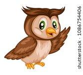 vector illustration of a happy...   Shutterstock .eps vector #1086754406