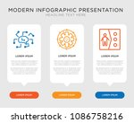 business infographic template... | Shutterstock .eps vector #1086758216