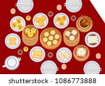 illustration vector set of dim... | Shutterstock .eps vector #1086773888