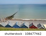 Beach Huts At Sheringham On...