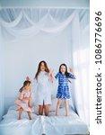 little girls trust a young...   Shutterstock . vector #1086776696