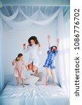 little girls trust a young...   Shutterstock . vector #1086776702