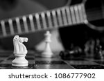 chess photographed on a... | Shutterstock . vector #1086777902