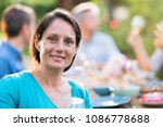 looking at the camera a... | Shutterstock . vector #1086778688