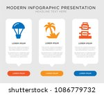business infographic template... | Shutterstock .eps vector #1086779732