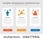 business infographic template... | Shutterstock .eps vector #1086779846