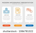 business infographic template... | Shutterstock .eps vector #1086781322