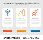 business infographic template... | Shutterstock .eps vector #1086789452