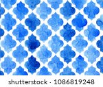 Quatrefoil Pattern In Shades O...