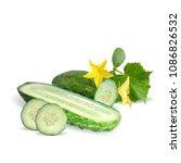 fresh  nutritious  tasty green... | Shutterstock .eps vector #1086826532