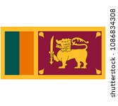 flag of sri lanka officially... | Shutterstock .eps vector #1086834308