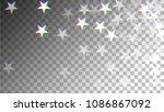 glitch art background. white... | Shutterstock .eps vector #1086867092