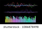 audio digital equalizer... | Shutterstock .eps vector #1086878498