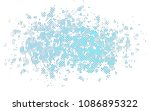 light blue vector template with ... | Shutterstock .eps vector #1086895322