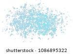light blue vector template with ... | Shutterstock .eps vector #1086895322