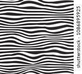black and white colors. zebra... | Shutterstock .eps vector #1086895925
