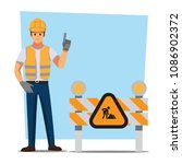 technician and builders and... | Shutterstock .eps vector #1086902372