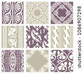 classic vintage elegant pastel...   Shutterstock .eps vector #1086907298
