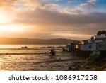 sunrise at castro in the...   Shutterstock . vector #1086917258