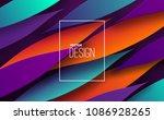 modern minimal cover design.... | Shutterstock .eps vector #1086928265