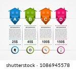 business infographic... | Shutterstock .eps vector #1086945578