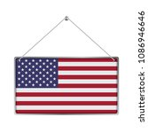 flag of united states. the... | Shutterstock .eps vector #1086946646