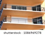hurricane shutters come in all... | Shutterstock . vector #1086969278