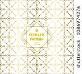 gradient gold white seamless...   Shutterstock .eps vector #1086974276