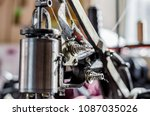part of the mechanism is a... | Shutterstock . vector #1087035026