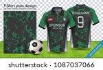 soccer jersey template  sport...   Shutterstock .eps vector #1087037066